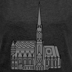 St. Stephen's Cathedral Vienna 2 Bags & Backpacks - Women's T-shirt with rolled up sleeves