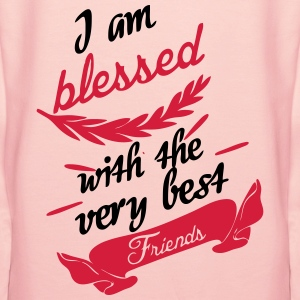 Blessed with very best friends T-Shirts - Women's Premium Hoodie