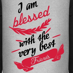 Blessed with very best friends T-Shirts - Unisex Baseball Hoodie