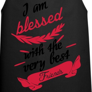 Blessed with very best friends T-Shirts - Cooking Apron