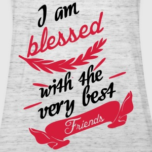 Blessed with very best friends T-Shirts - Frauen Tank Top von Bella