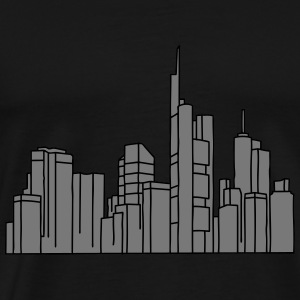 Frankfurt Skyline 2 Other - Men's Premium T-Shirt