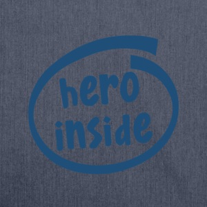 hero inside (1802C) - Schultertasche aus Recycling-Material