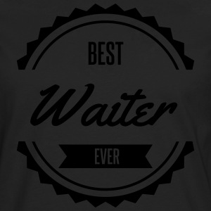 best waiter  Aprons - Men's Premium Longsleeve Shirt