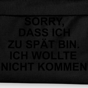 Sorry T-Shirts - Kinder Rucksack