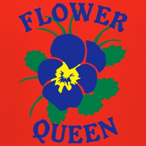Flower Queen Logo Blossom Flower T-Shirts - Kinder Premium Hoodie