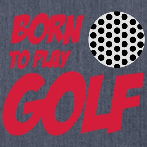 Born To Play Golf Babybody - Axelväska av återvinningsmaterial