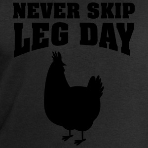 Never Skip Leg Day | Funny Gym Shirt T-Shirts - Men's Sweatshirt by Stanley & Stella