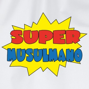 Super musulmano T-Shirts - Drawstring Bag