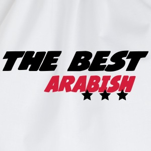 The best arabish T-Shirts - Drawstring Bag