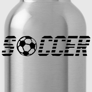 Word soccer ball 902 T-Shirts - Water Bottle