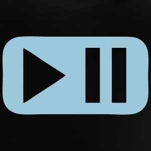Pause play button 802 Shirts - Baby T-Shirt