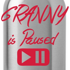 granny_is_paused Zitat Taste Tops - Trinkflasche