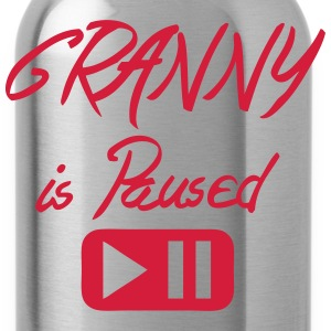 granny_is_paused Zitat Taste T-Shirts - Trinkflasche