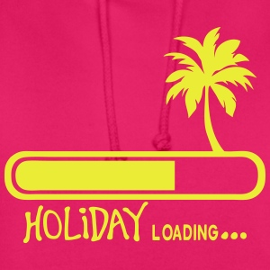 holiday_loading quote palm vacancy T-Shirts - Unisex Hoodie