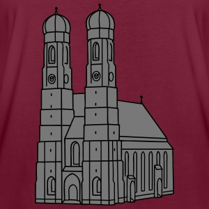 Munich Frauenkirche 2 Hoodies & Sweatshirts - Women's Oversize T-Shirt