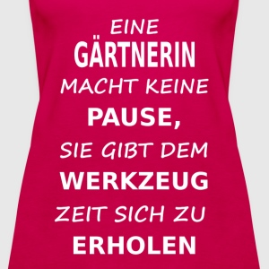 gaertnerin T-Shirts - Frauen Premium Tank Top