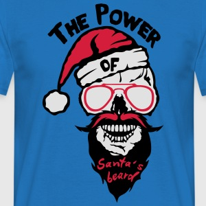 tete de mort power santa beard citation Tabliers - T-shirt Homme