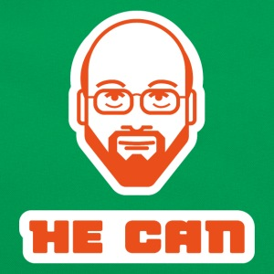 martin schulz he can T-Shirts - Retro Tasche