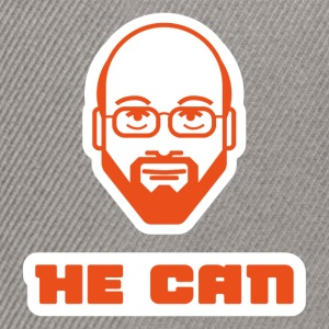 martin schulz he can T-Shirts - Snapback Cap
