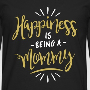 Happy Mommy Shirt - Men's Premium Longsleeve Shirt