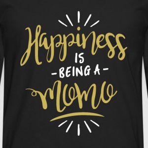 Happy Momo Shirt - Men's Premium Longsleeve Shirt