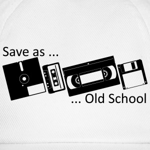 Save as ... Old School Camisetas - Gorra béisbol