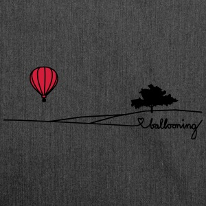 ballooning landscape T-Shirts - Schultertasche aus Recycling-Material
