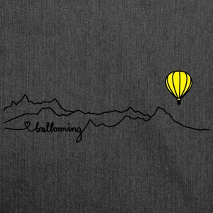 ballooning mountains T-Shirts - Schultertasche aus Recycling-Material
