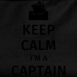 Keep Calm I'm a Captain Mugs & Drinkware - Kids' Backpack