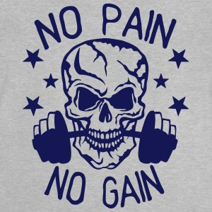 No pain gain quote bodybuilding muscle building Shirts - Baby T-Shirt