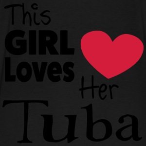 This Girl Loves Her Tuba Sweaters - Mannen Premium T-shirt