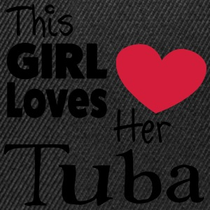This Girl Loves Her Tuba Sudaderas - Gorra Snapback