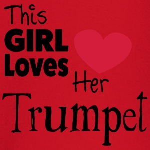 This Girl Loves Her Trumpet T-shirts - T-shirt