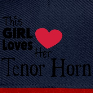 This Girl Loves Her Tenor Horn T-shirts - Snapback Cap