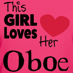 This Girl Loves Her Oboe Topper - Økologisk T-skjorte for kvinner