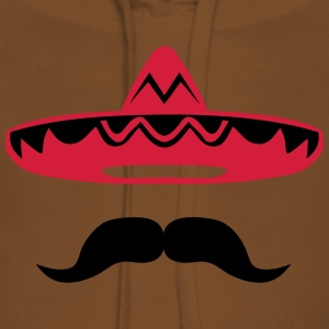 Mexican mustache hat 200 T-Shirts - Women's Premium Hoodie
