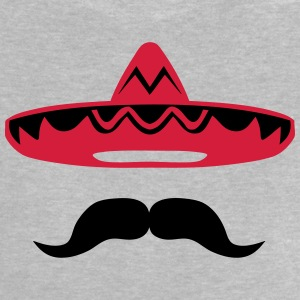 Mexican mustache hat 200 Shirts - Baby T-Shirt