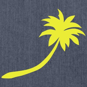 palm tree 20222 T-Shirts - Shoulder Bag made from recycled material