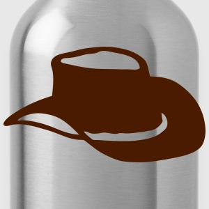 hat cowboy_202 Long Sleeve Shirts - Water Bottle