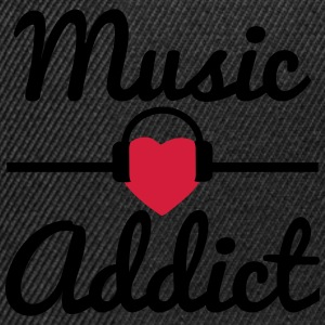 Music addict  - Snapback Cap
