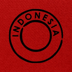 Rot Indonesien - Indonesia T-Shirts - Snapback Cap