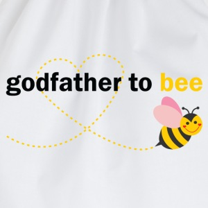 Godfather To Bee T-Shirts - Drawstring Bag