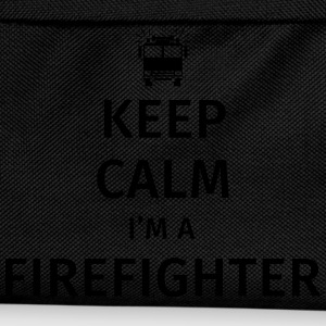 Keep Calm I'm a Firefighter Camisetas - Mochila infantil