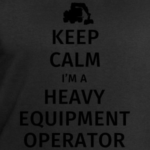 Keep Calm I'm a Heavy Equipment Operator T-shirts - Sweatshirt herr från Stanley & Stella
