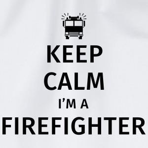 Keep Calm I'm a Firefighter Tazze & Accessori - Sacca sportiva