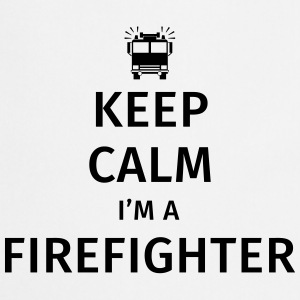 Keep Calm I'm a Firefighter Tazze & Accessori - Grembiule da cucina