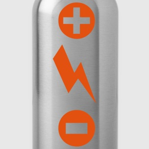 More less energy flash symbol Tops - Water Bottle