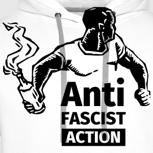 Anti-Fascist Action T-shirts - Mannen Premium hoodie
