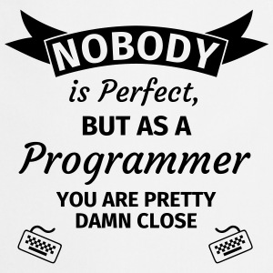 Nobody is Perfect, but as an Engineer you are Pret Koszulki - Fartuch kuchenny